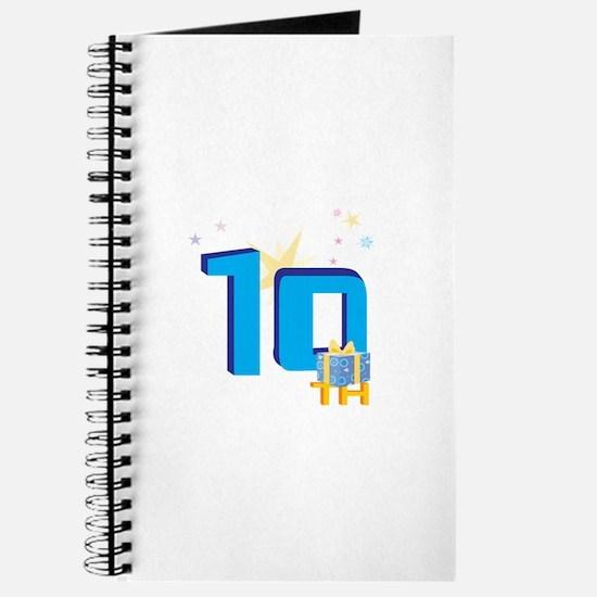 10th Celebration Journal