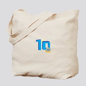 10th Celebration Tote Bag