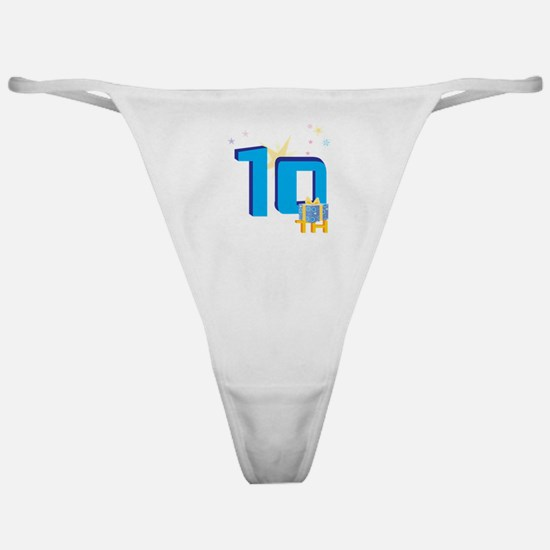 10th Celebration Classic Thong