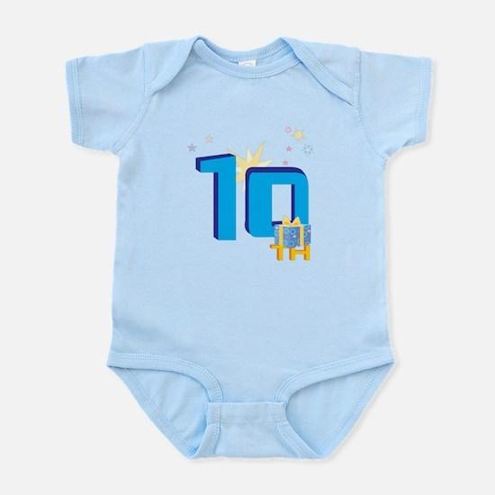 10th Celebration Infant Bodysuit
