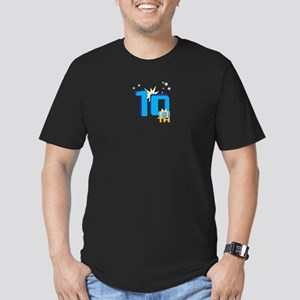 10th Celebration Men's Fitted T-Shirt (dark)