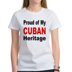 Proud Cuban Heritage (Front) Women's T-Shirt