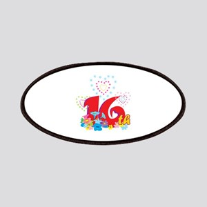 16th Celebration Patches