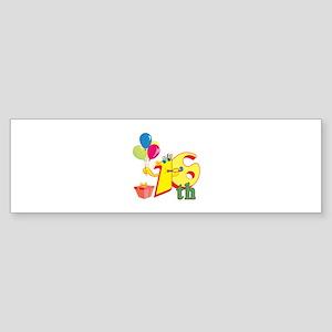 16th Celebration Sticker (Bumper)