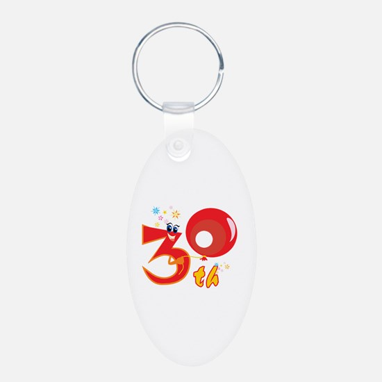 30th Celebration Keychains