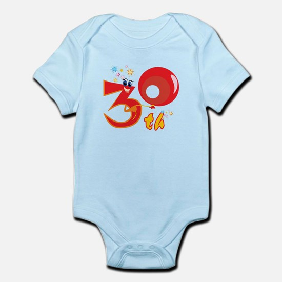 30th Celebration Infant Bodysuit