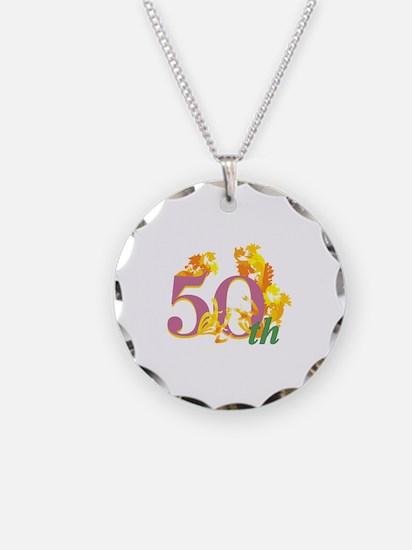50th Celebration Necklace