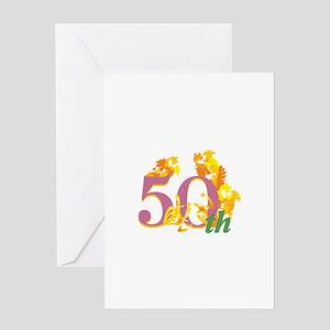 50th Celebration Greeting Card