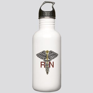 RN Medical Symbol Stainless Water Bottle 1.0L