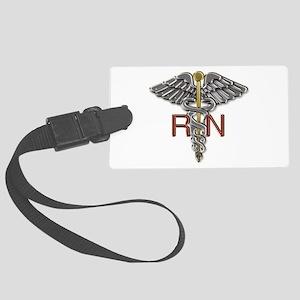 RN Medical Symbol Large Luggage Tag