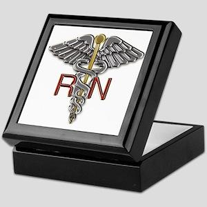 RN Medical Symbol Keepsake Box
