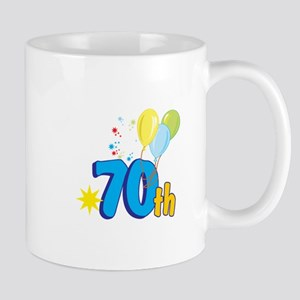 70th Celebration Mug