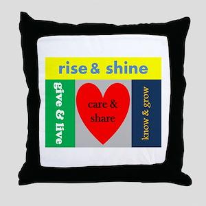 careshare Throw Pillow