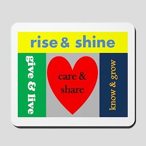 careshare Mousepad
