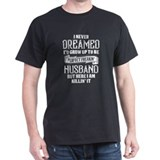 Husband Mens Classic Dark T-Shirts