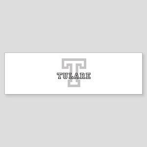 Tulare (Big Letter) Bumper Sticker