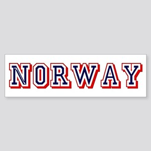 Norway Sticker (Bumper)