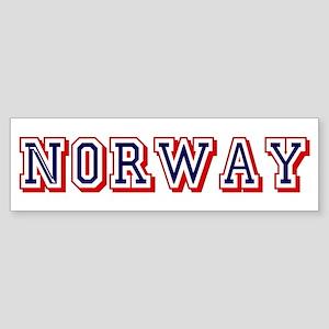 Norway Sticker (Bumper)