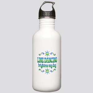 Line Dancing Brightens Stainless Water Bottle 1.0L