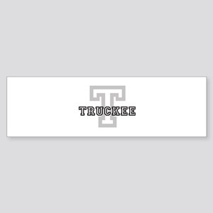 Truckee (Big Letter) Bumper Sticker