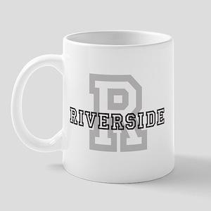 Riverside (Big Letter) Mug