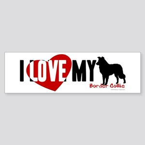 Border Collie Sticker (Bumper)