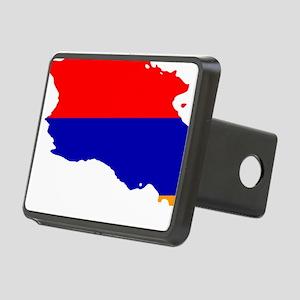 Armenia Flag and Map Rectangular Hitch Cover