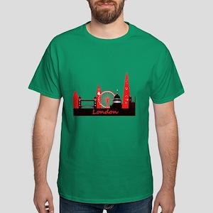 London landmarks tee 3cp Dark T-Shirt