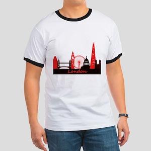 London landmarks tee 3cp Ringer T