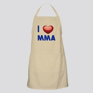 I love Mixed Martial Art Apron