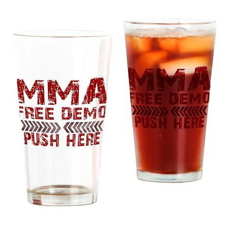 MMA Free demo Drinking Glass