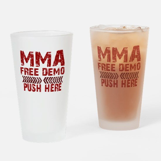 MMA Free demo Drinking Glass