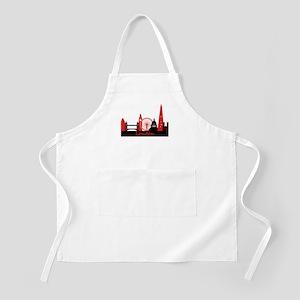 London landmarks tee 3cp Apron