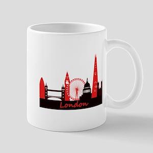 London landmarks tee 3cp Mug