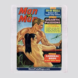 MAN TO MAN, January 1965 Throw Blanket