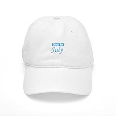 Due In July - Blue Baseball Cap