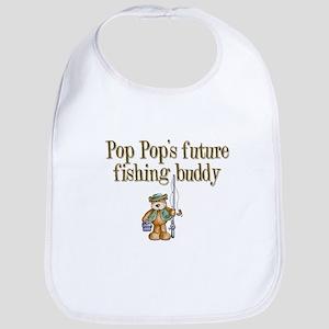 Pop Pop's Future Fishing Buddy Bib