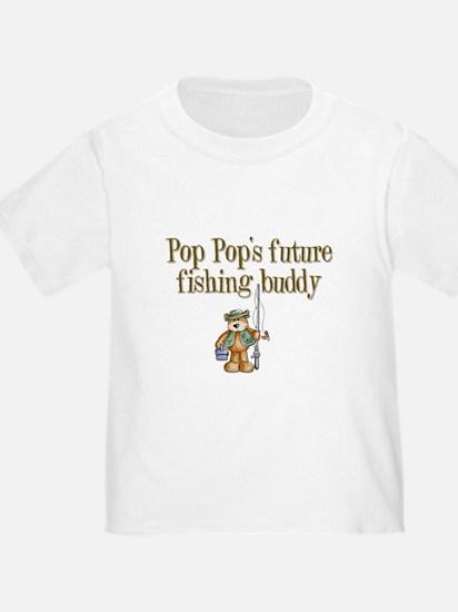 Pop Pop's Future Fishing Buddy T