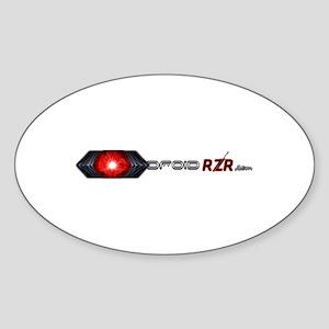 Droidrzr Sticker (Oval)