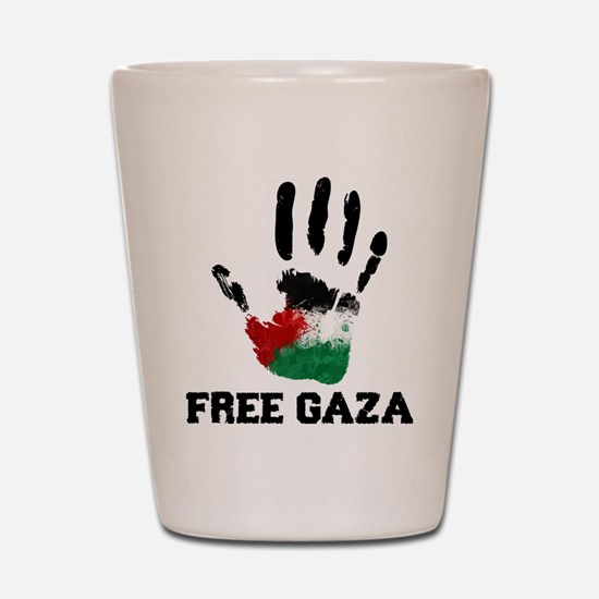 Unique Free palestine Shot Glass