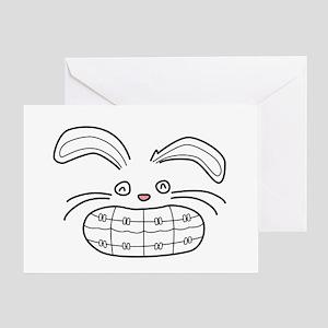 Bunny Brace Greeting Card