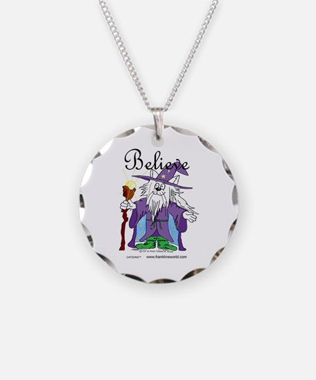 I Believe Cat Four Times.jpg Necklace