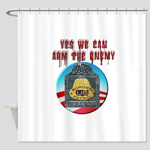 Arm The Enemy Shower Curtain