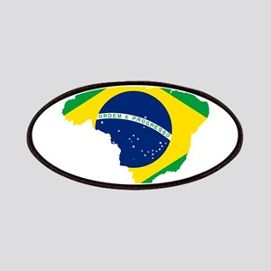 Brazil Flag and Map Patches