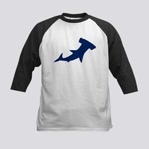 Hammerhead Sharks/Jaws Kids Baseball Jersey