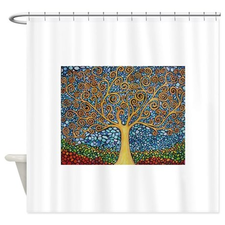My Tree of Life Shower Curtain