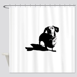 2-7x7_apparel_caesar_01 Shower Curtain