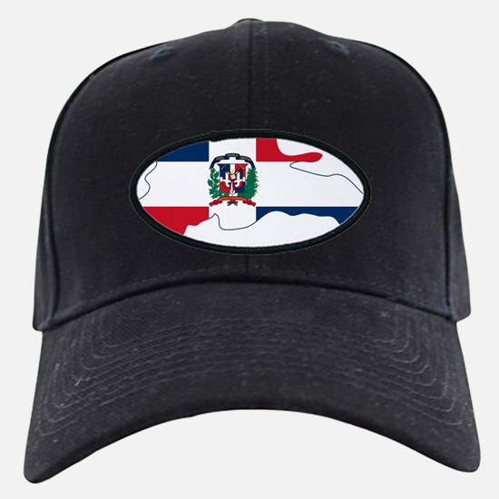Dominican Republic Flag and Map Baseball Hat