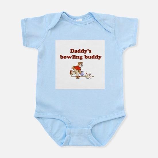 Daddy's Bowling Buddy Infant Creeper