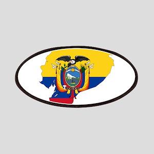Ecuador Flag and Map Patches